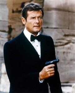 Roger Moore: James Bond