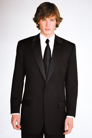 Business Suit-Like Tuxedo, Circa 2000's.