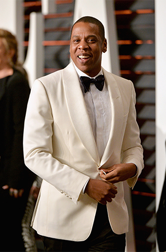 Ivory Dinner Jackets at the 2015 Oscars!