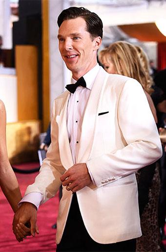 Ivory Dinner Jackets at the 2015 Oscars!