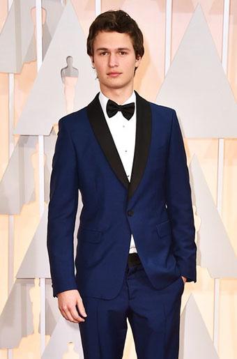 Blue Tux White Shoes Oscars