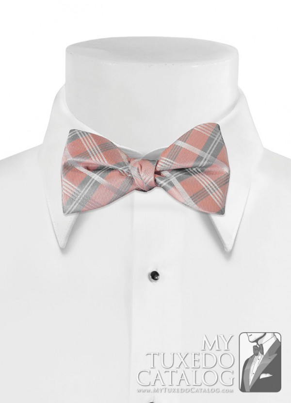 Ballet 'Solid Plaid' Bow Tie