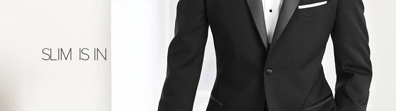 Slim is in: A New Kind of Rental Tuxedo