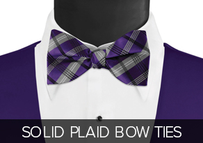 Solid_Plaid_Bow_Ties