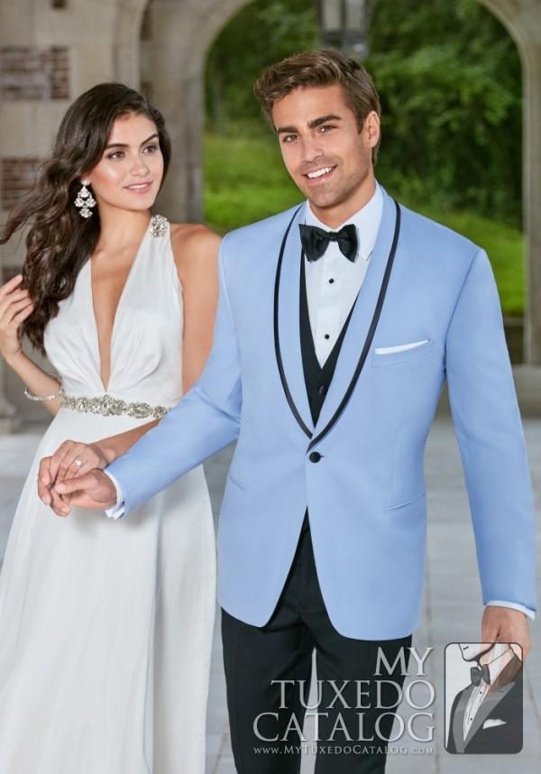 Powder Blue Valencia Tuxedo Tuxedos Amp Suits