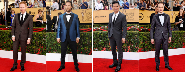 Alternative Black Tie options at the 2015 SAG Awards