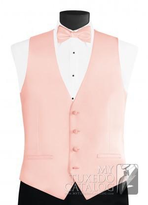 54a212095672 Blush 'Modern Solid' Vest   Vests   MyTuxedoCatalog.com