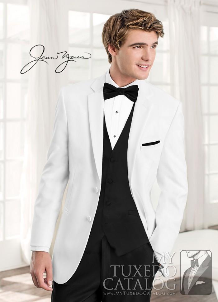 White Tuxedo Jacket Wedding