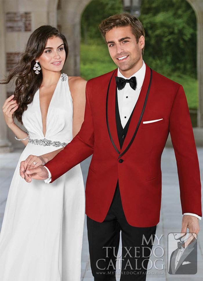 Red Carmine Tuxedo Tuxedos Amp Suits Mytuxedocatalog Com