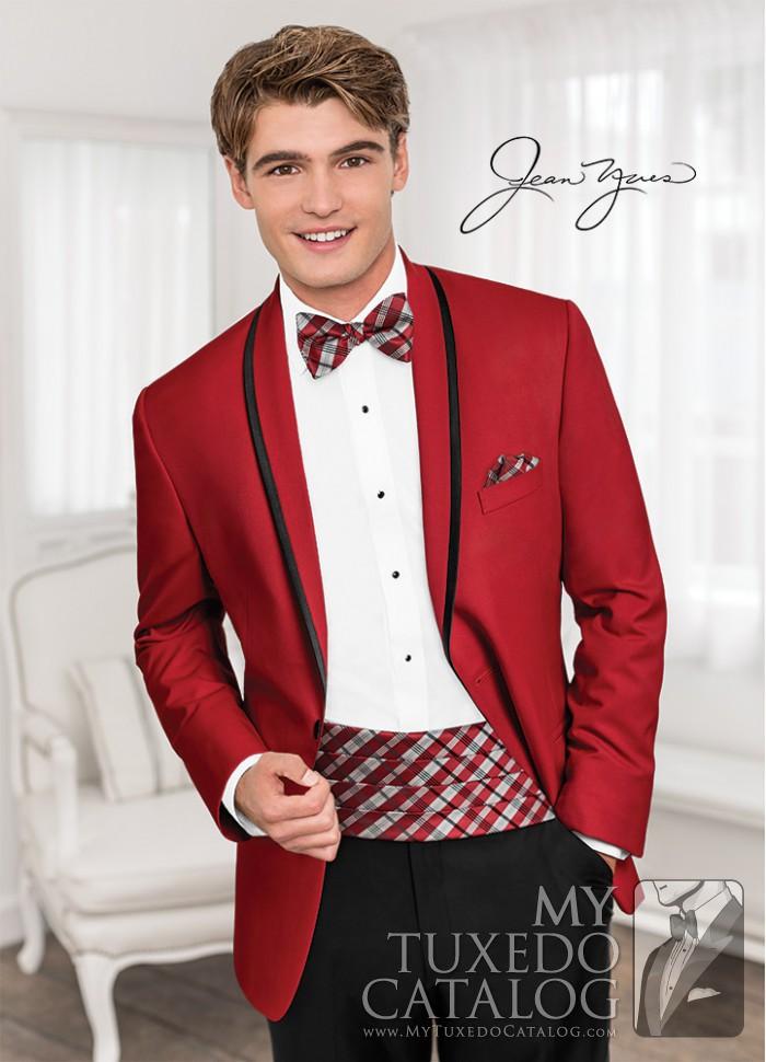 Red \'Calypso\' Tuxedo | Tuxedos & Suits | MyTuxedoCatalog.com