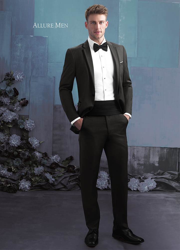 The Granite Grey Brunswick Tuxedo By Allure Men
