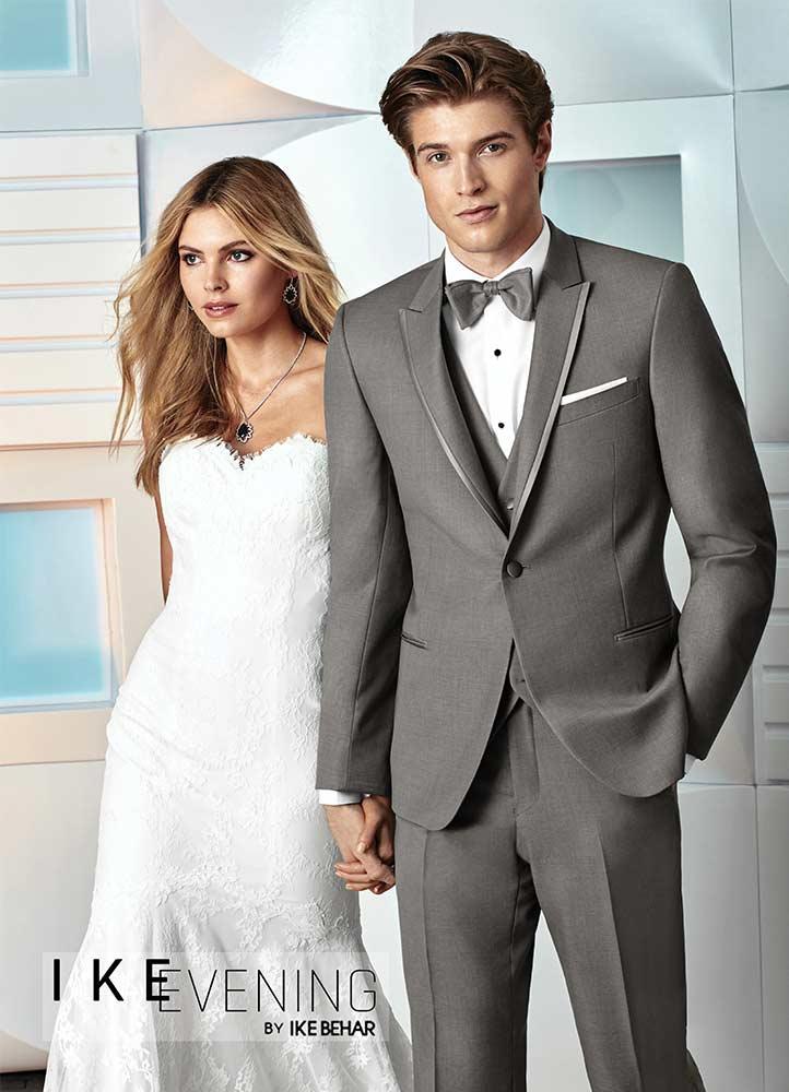 Grey 'Chelsea' Tuxedo