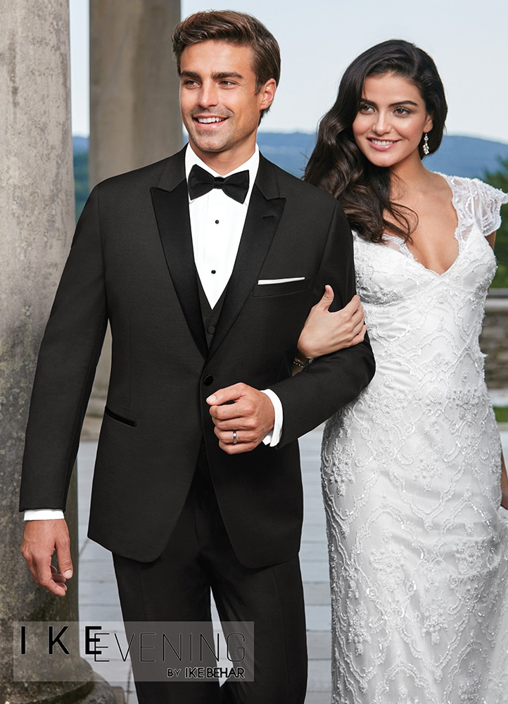 Charcoal Grey 'Xavier' Tuxedo