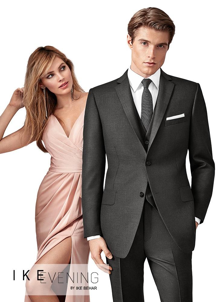 Charcoal Grey 'Alexander' Suit