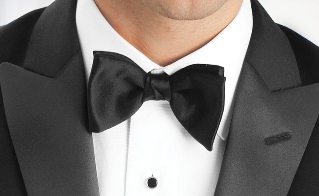 Tuxedo Q&A: 7 Tuxedo Tips To Look Your Best: The Right Neckwear