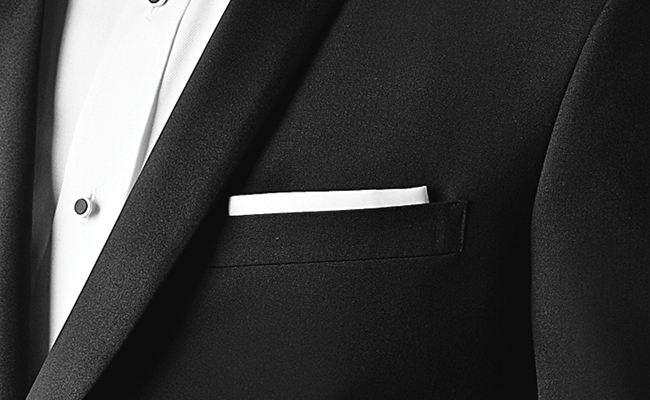 Tuxedo Q&A: 7 Tuxedo Tips To Look Your Best: The Pocket Square