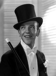Realistically Colorized Tuxedos from the Past: Fred Astaire