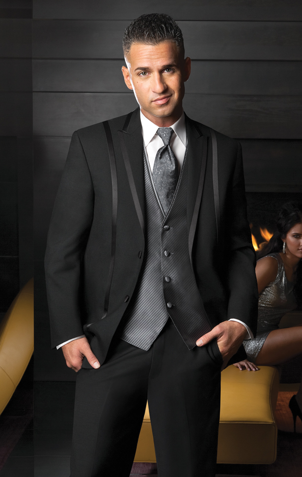 The Situation Black 'Avalon' Tuxedo by FLOW Formalwear