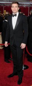 Chris Pine in Black Tie