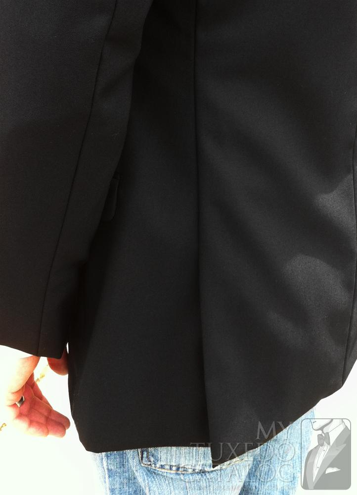 Black 'Allure Men' Tuxedo - Side Vents