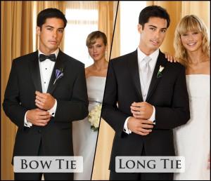 Bow Tie vs. Long Tie: What's my best look?