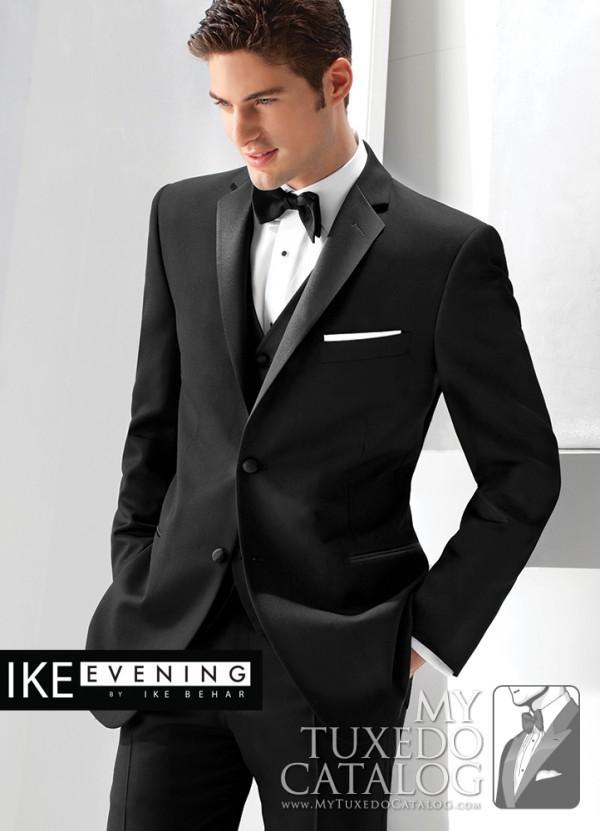 9.) Ike Behar Black 'Parker' Tuxedo