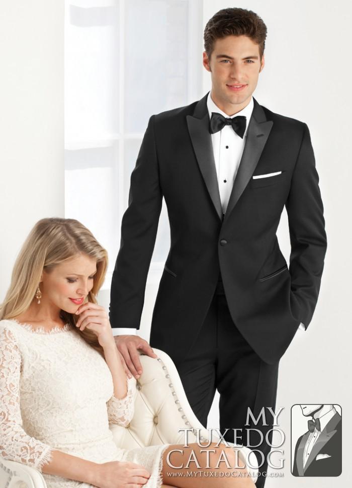 Black \'Jackson\' Tuxedo   Tuxedos & Suits   MyTuxedoCatalog.com