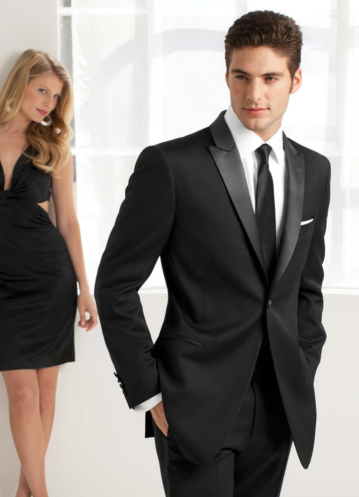 Tuxedo Trends: Ike Behar Slim Fit Tuxedos for Prom!
