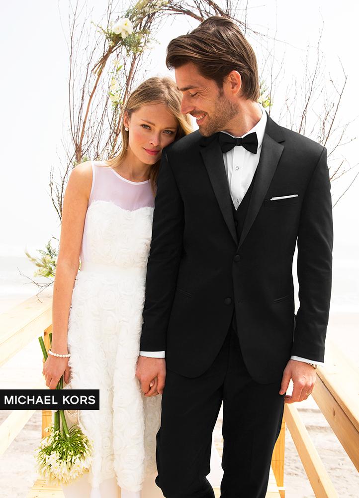 Black 'Desire' Tuxedo by Michael Kors