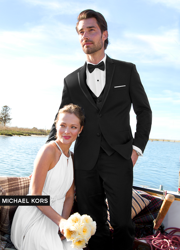 Black 'Obsession' Tuxedo by Michael Kors