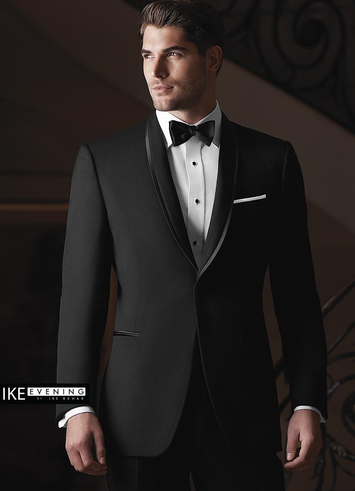 Black Waverly Tuxedo