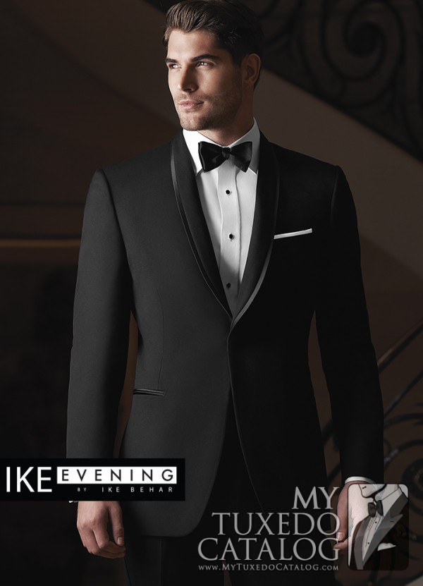 Ike Behar Black Waverly Tuxedo Top 10 Styles For