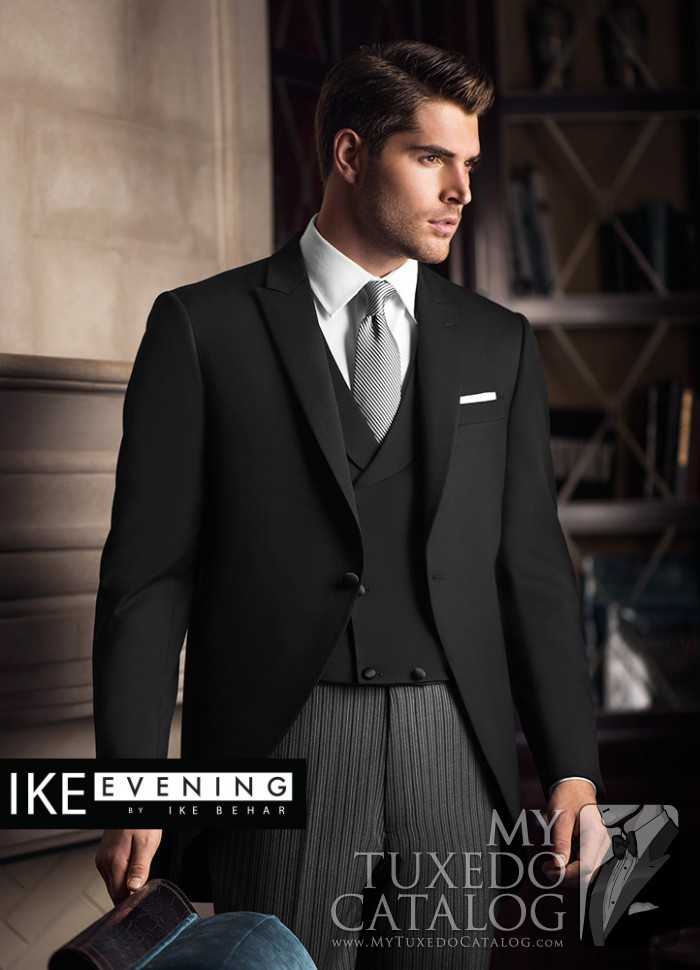 Black 'Wyatt' Cutaway | Tuxedos & Suits | MyTuxedoCatalog.com