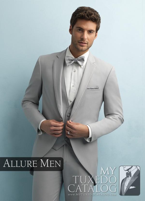 Cement Grey 'Darcy' Cutaway by Allure Men