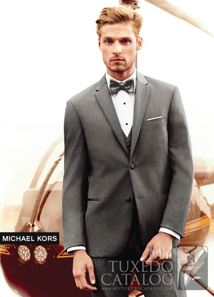 Grey 'Affection' Tuxedo by Michael Kors