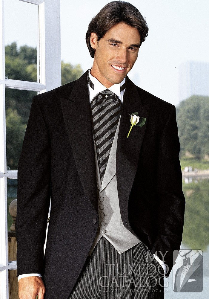 Black Somerset Cutaway Tuxedo Tuxedos Amp Suits
