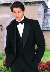 After Six Black 'Amalfi' Tuxedo