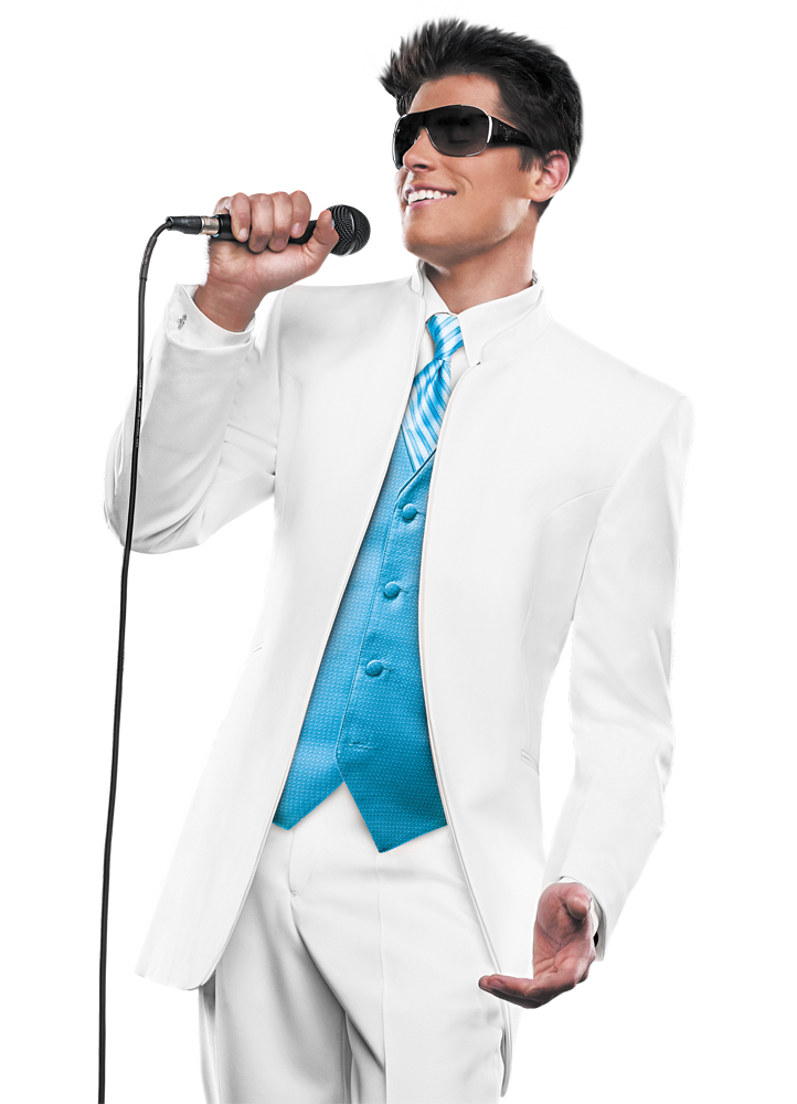 Tiffany Blue Prom Suits