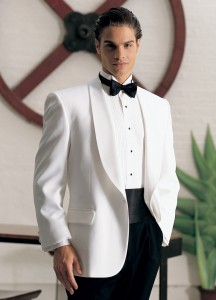 After Six White 'Gerard' Dinner Jacket