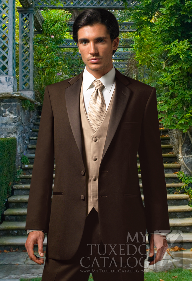Chocolate 'Premier' Tuxedo by Jean Yves: #4