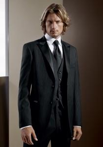 Calvin Klein Black 'Infinity' Tuxedo