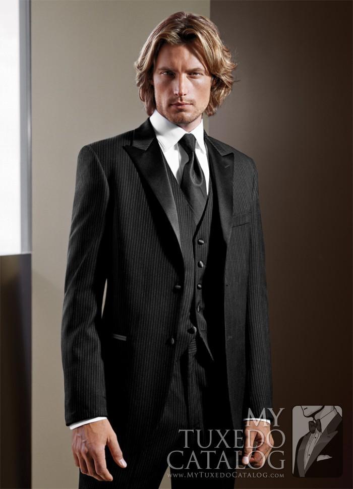 Black \'Infinity\' Tuxedo | Tuxedos & Suits | MyTuxedoCatalog.com