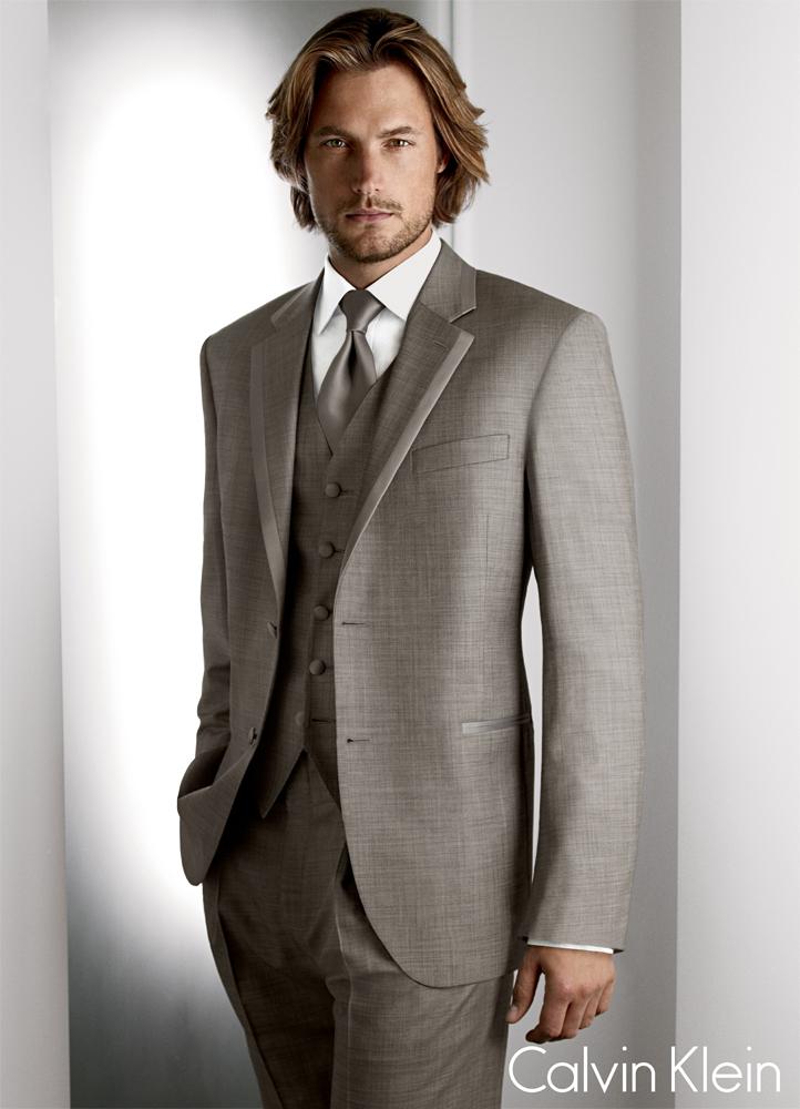 Grey 'Legend' Tuxedo