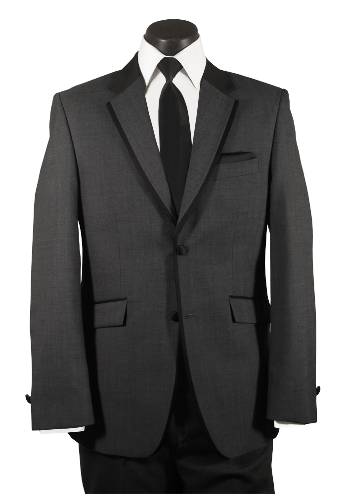 Joseph Abboud Grey 'Element' Tuxedo
