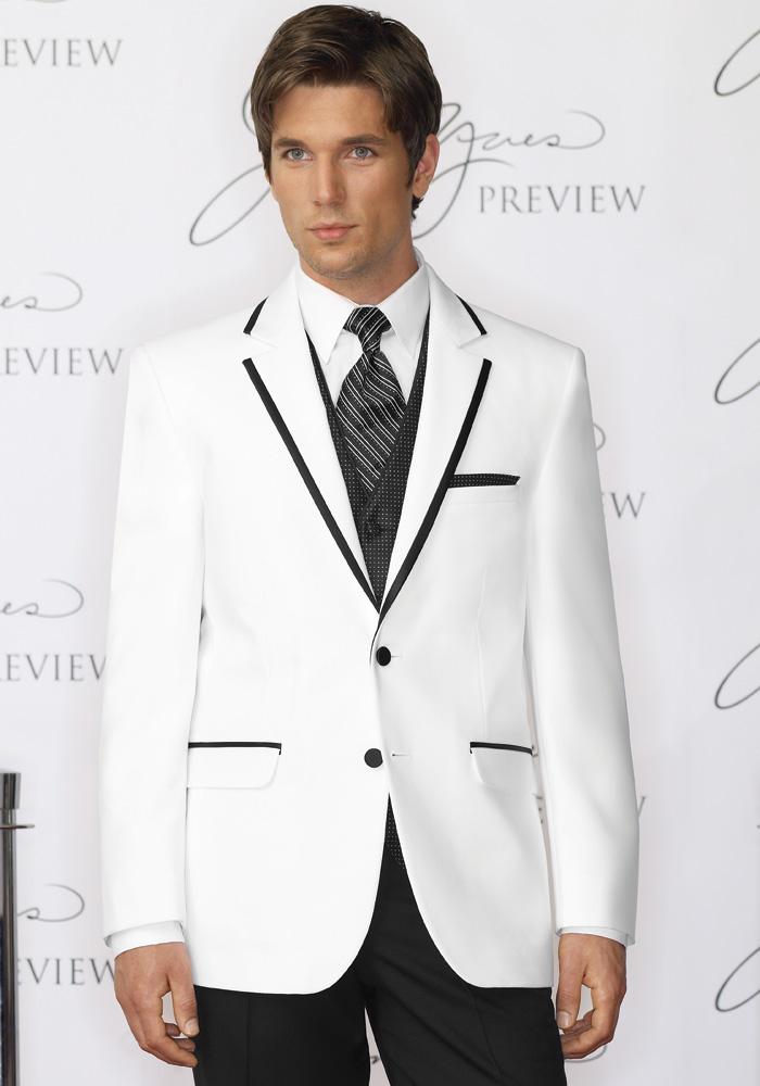 White 'Savoy' Tuxedo