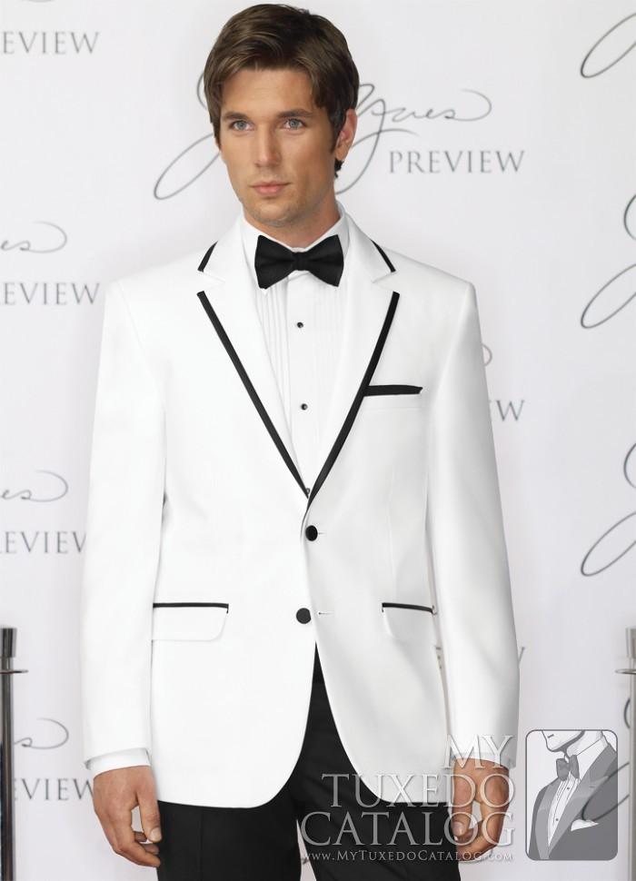 White 'Savoy' Tuxedo | Tuxedos & Suits | MyTuxedoCatalog.com