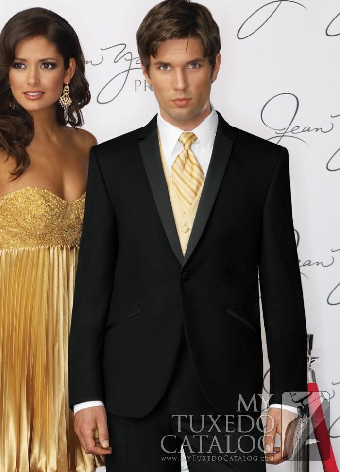 Black \'Illusion\' Tuxedo | Tuxedos & Suits | MyTuxedoCatalog.com