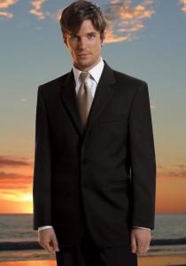 Jean Yves Black 'Premier' Suit