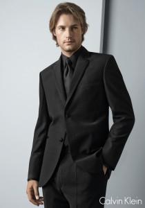 Calvin Klein Black 'Rome' Tuxedo