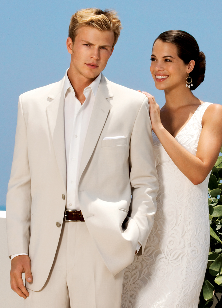 Sand 'Riviera' Destination Suit by After Six